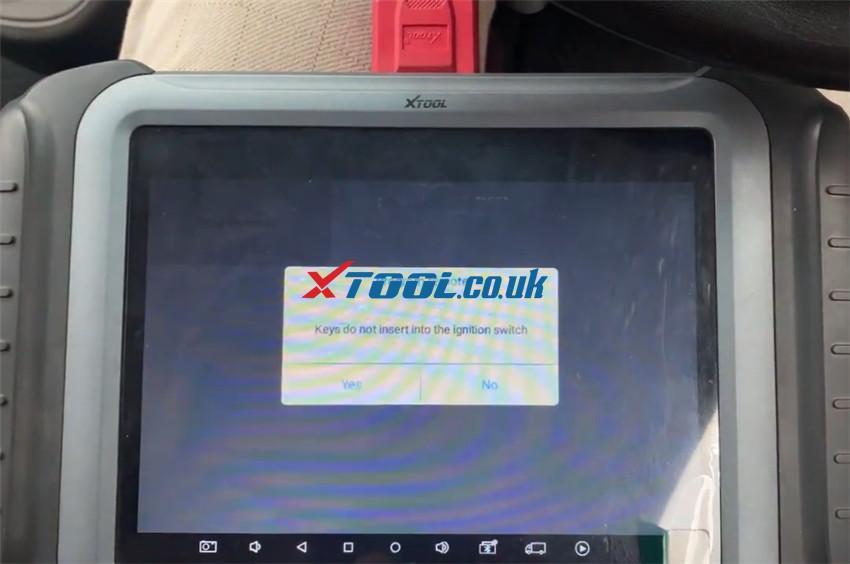 X100 Pad3 Program Hyundai I10 Remote 6