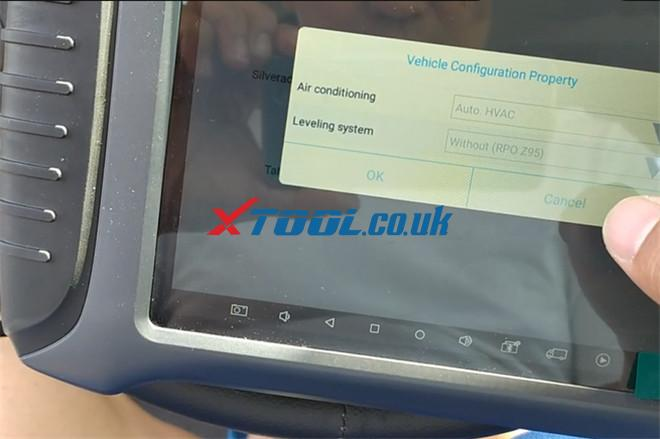 Xtool X100 Pad3 Solve Chevy Avalanche P0300 Trouble 3