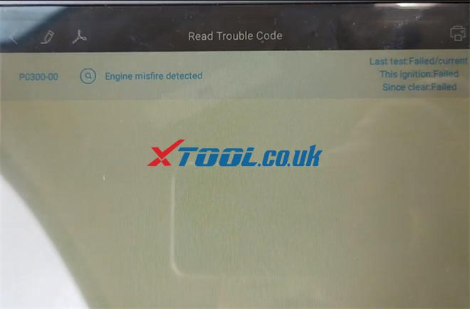Xtool X100 Pad3 Solve Chevy Avalanche P0300 Trouble 7