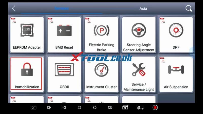 Suzuki Baleno AKL Or ADD Key Programming By Xtool PAD 04