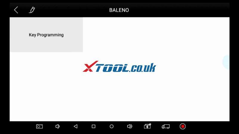 Suzuki Baleno AKL Or ADD Key Programming By Xtool PAD 11
