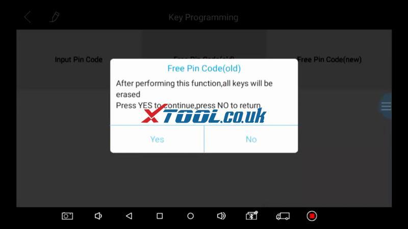 Suzuki Baleno AKL Or ADD Key Programming By Xtool PAD 15