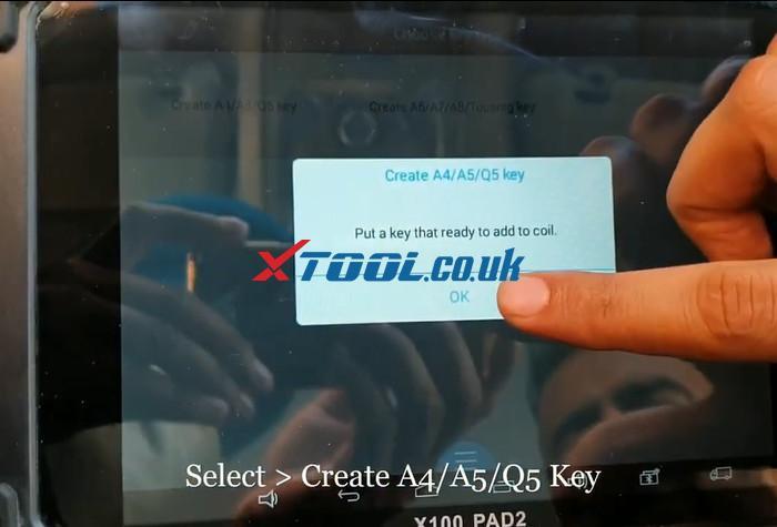 X100 Pad2 Pro Program Audi Q5 9