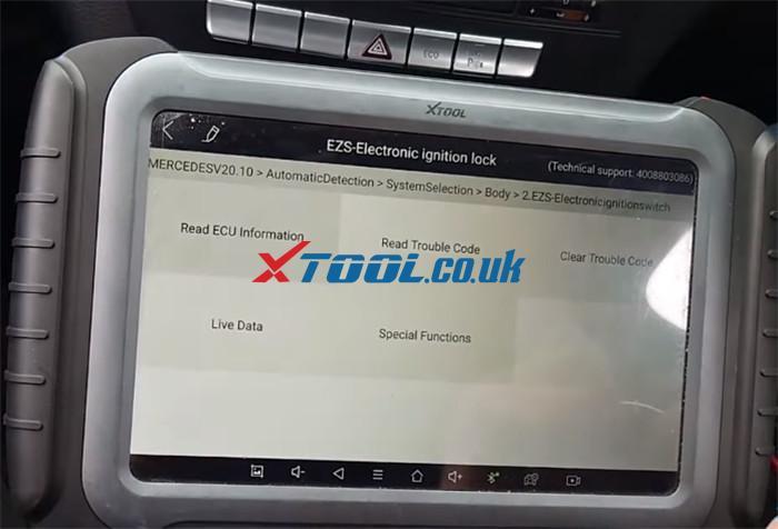 Xtool A80 Pro Test Eis 2013 Benz C220 W204 2