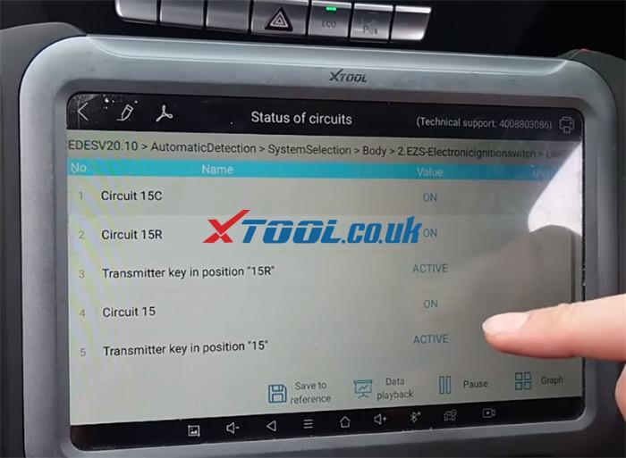 Xtool A80 Pro Test Eis 2013 Benz C220 W204 5