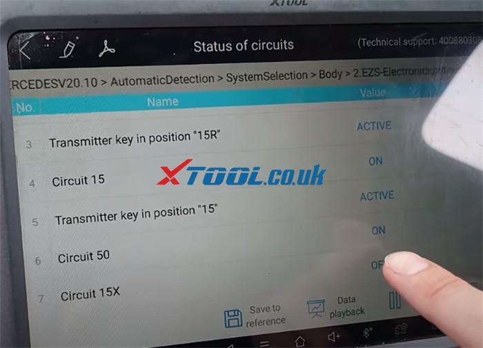 Xtool A80 Pro Test Eis 2013 Benz C220 W204 7