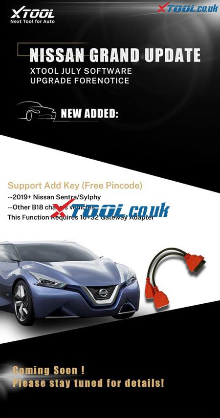 Xtool Nissan Add
