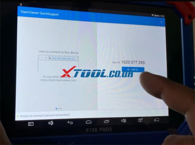 Xtool Tablet Series Teamviewer App Update 10