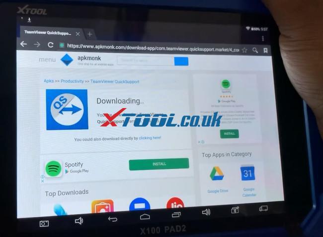 Xtool Tablet Series Teamviewer App Update 7