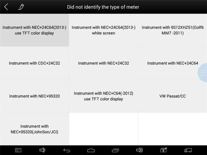 Xtool Tablet Vw Sharan 2012 A1 Learn Key 3