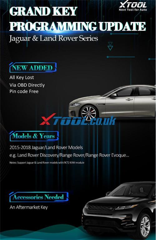 Xtool X100 Pad Tablet Series Landrover Add Akl 1