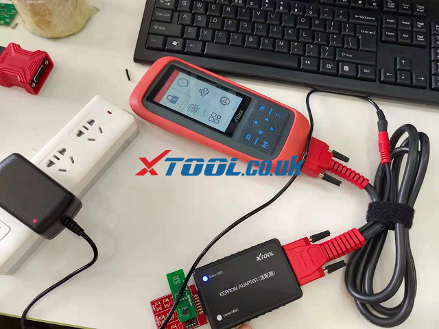 XTOOL X100 PRO3 Connecetion 02