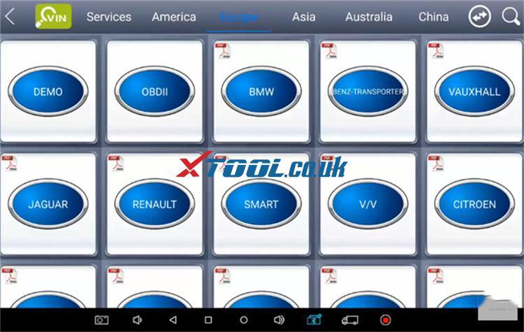 Xtool A80 Pro Bmw Online Ecu Program 2