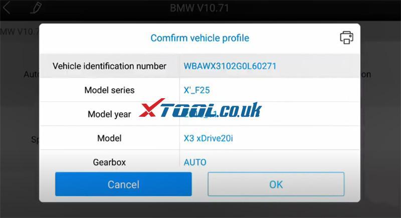 Xtool A80 Pro Bmw Online Ecu Program 3