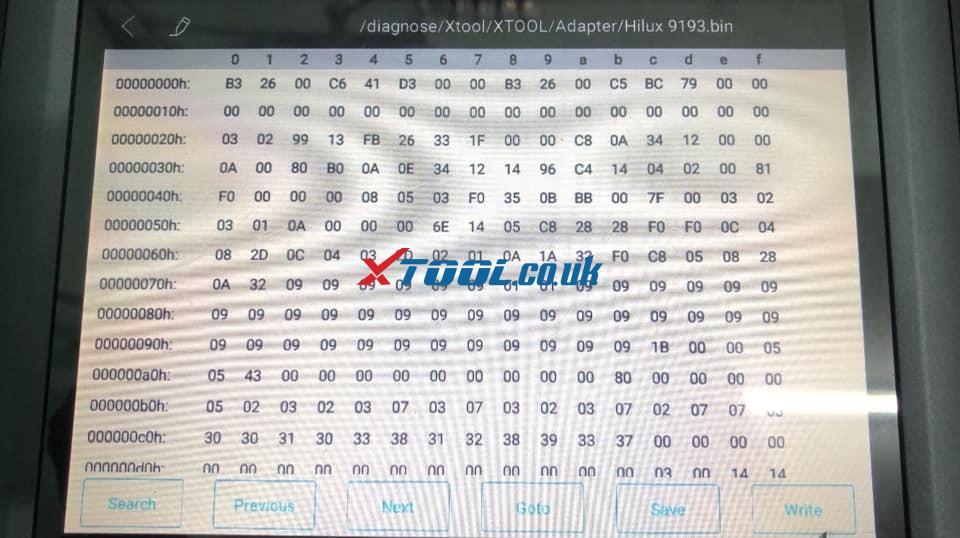 Xtool X100 Pad2 Eeprom 93c76 03