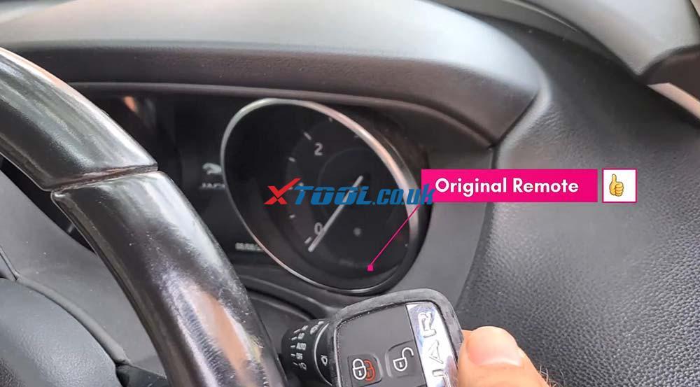 Xtool X100 Pad2 Program New Jaguar Landrover 2014 Smart Key 10