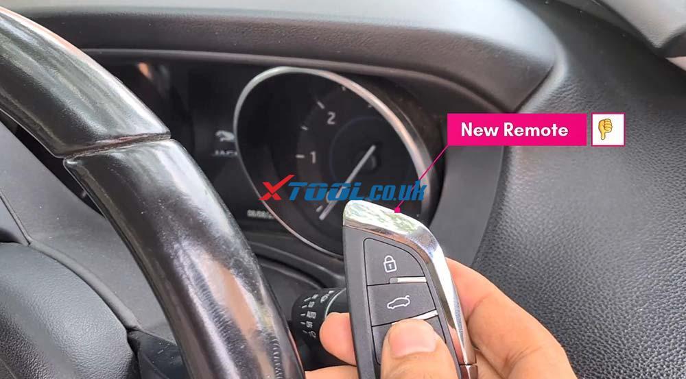 Xtool X100 Pad2 Program New Jaguar Landrover 2014 Smart Key 11