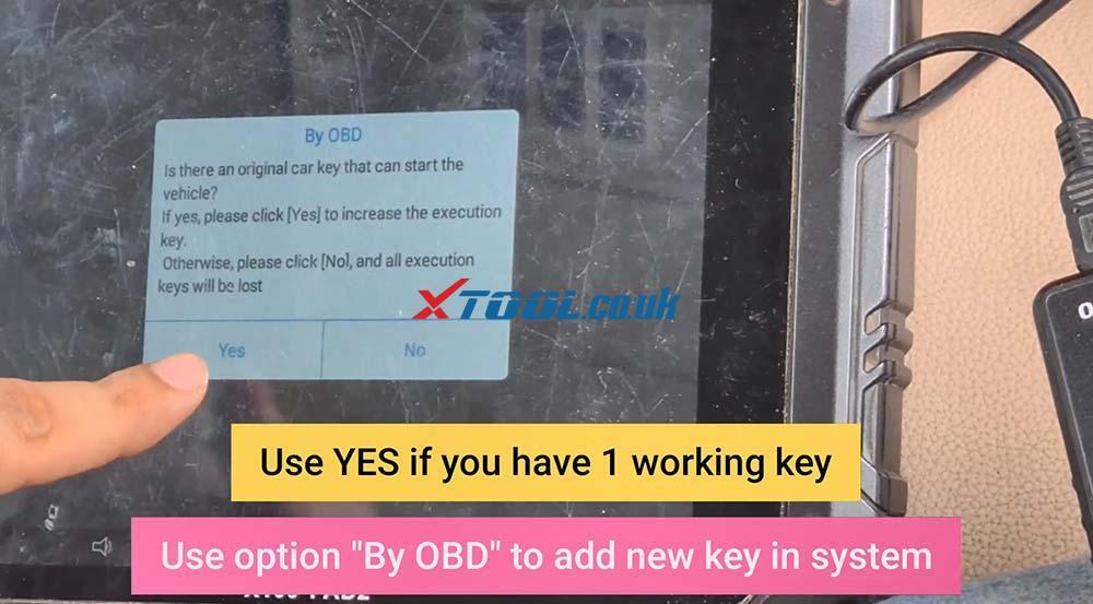Xtool X100 Pad2 Program New Jaguar Landrover 2014 Smart Key 16