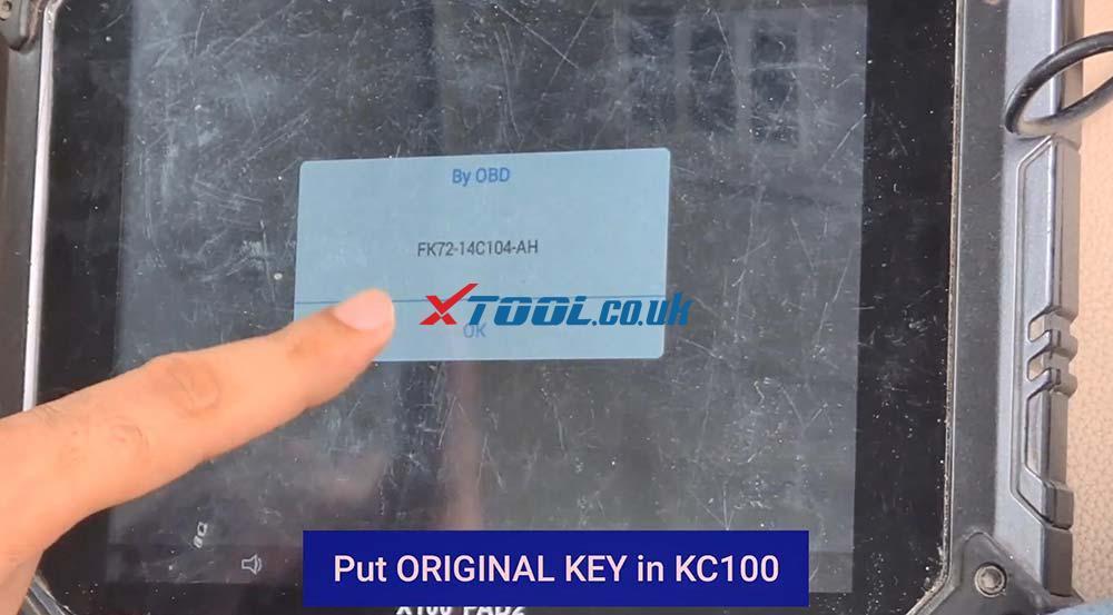 Xtool X100 Pad2 Program New Jaguar Landrover 2014 Smart Key 18