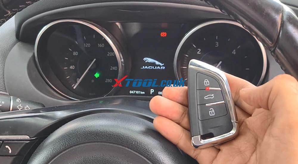 Xtool X100 Pad2 Program New Jaguar Landrover 2014 Smart Key 23