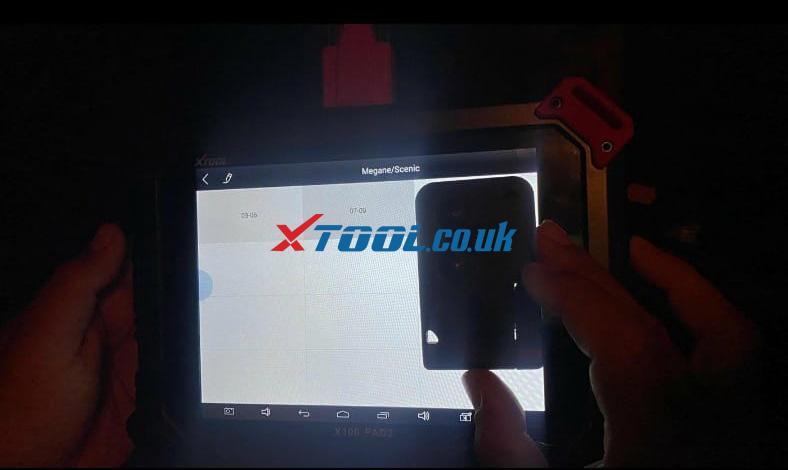Xtool X100 Pad2 Renault 02