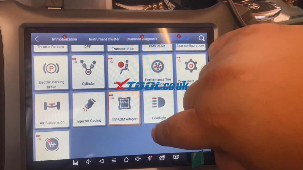 Xtool X100 Pad3 Se Reflash Toyota Lexus Ic900 93c56 Data 13