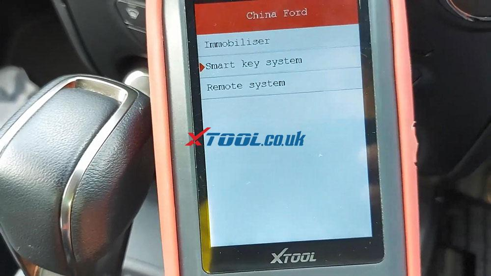 Xtool X100 Pro2 2019 Ford Ranger Explorer Keyless Spare Key 04