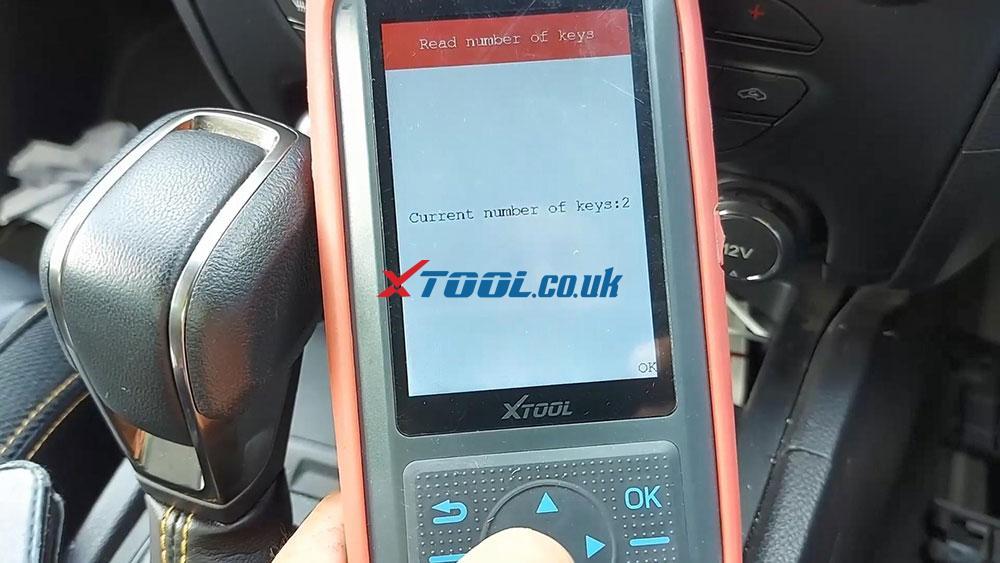 Xtool X100 Pro2 2019 Ford Ranger Explorer Keyless Spare Key 07