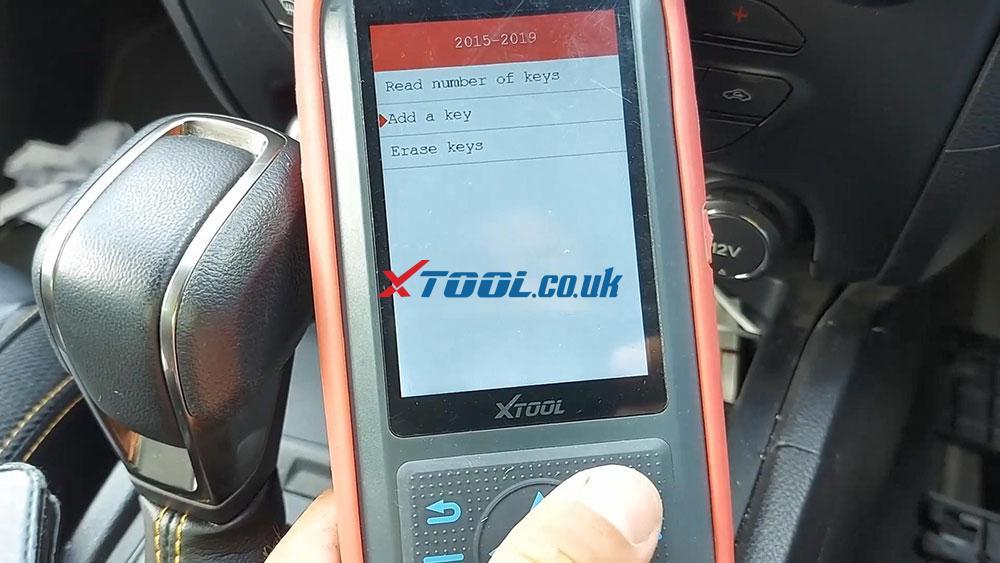 Xtool X100 Pro2 2019 Ford Ranger Explorer Keyless Spare Key 08