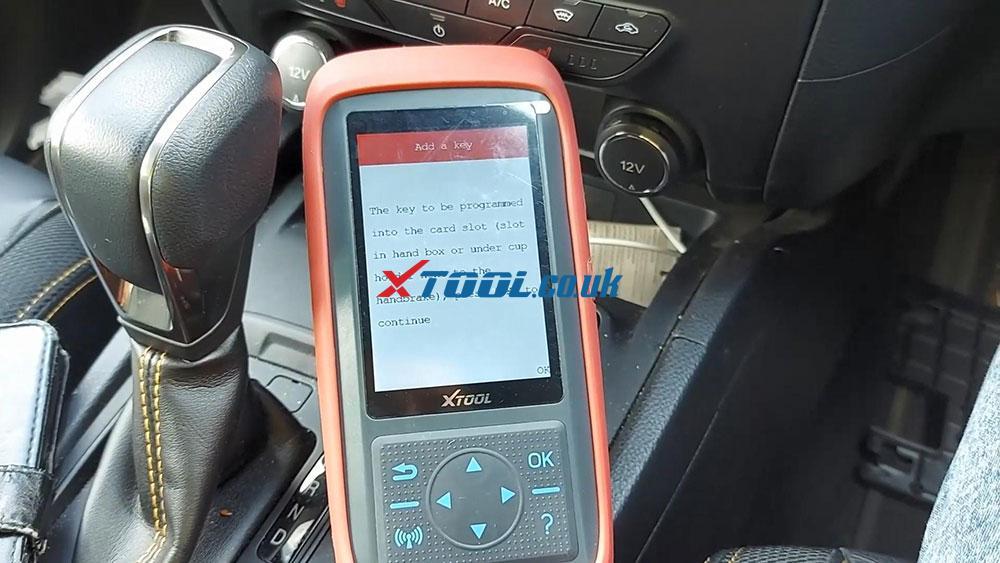 Xtool X100 Pro2 2019 Ford Ranger Explorer Keyless Spare Key 10