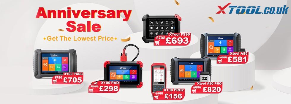 XTOOL UK Anniversary Promotion