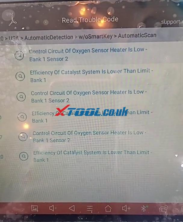 Xtool A80 Pro Turn Off The Check Engine Light 11