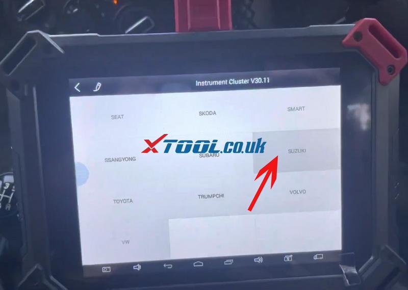 Swift 2021 Odometer Xtool X100 Pad2 (2)