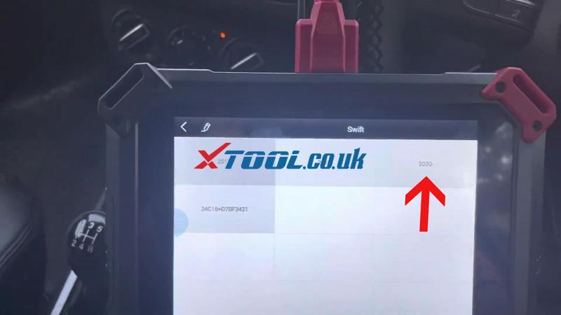 Swift 2021 Odometer Xtool X100 Pad2 (4)