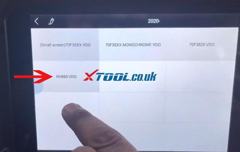 Swift 2021 Odometer Xtool X100 Pad2 (5)